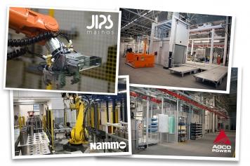 Nammo, Agco | Kuvaustyö tuotantotiloissa ja tehtaalla vaati koneiden ja laitteiden sekä työtapojen tuntemusta. Kuvaus- ja julkaisurajoitukset huomioiden kuvaukset toteutettiin työvaiheiden etenemisen ja tuotteen valmistumisen mukaan. Kuvaustyöstä ei saa aiheutua haittaa työntekijöille ja kuvakohteesta poistettiin epäolennaiset asiat kuvankäsittelyn helpottamiseksi. Työ tuotannossa edellyttää joustavuutta ja nopeaa reagointikykyä kuvaajalta. Sarjakuvaus, tuotantokuvaus, stilkuva, videokuva.