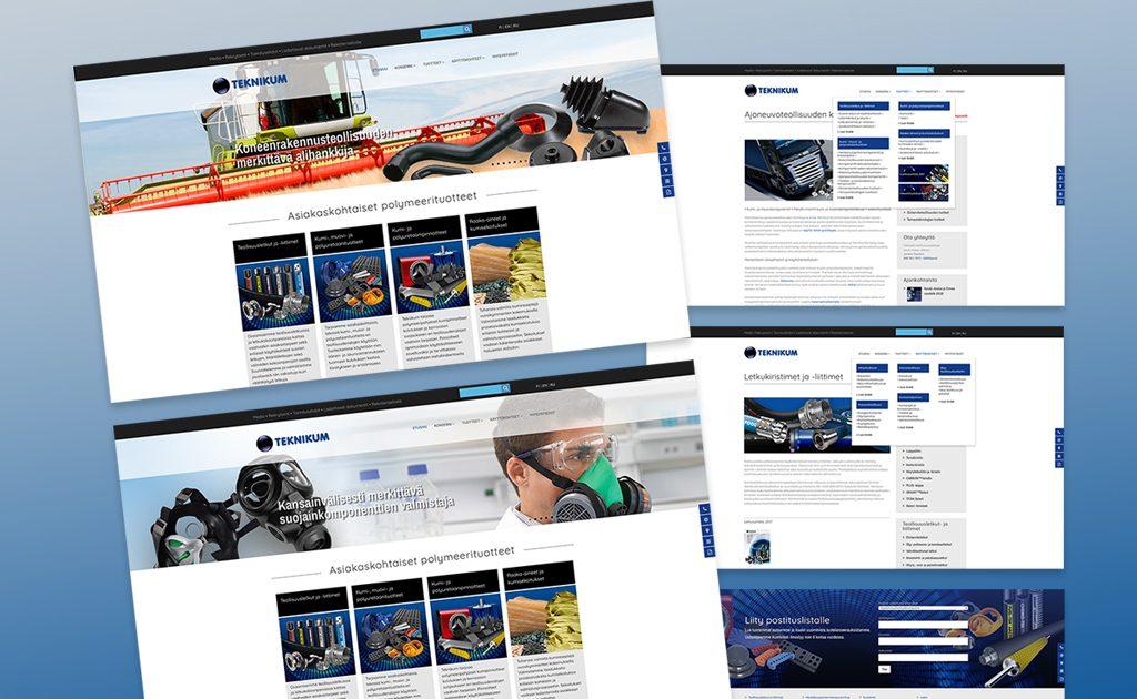 Uusi verkkosivusto Teknikumille – mittava sivustouudistus