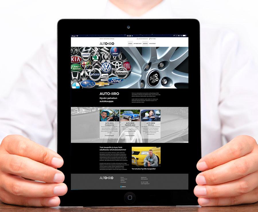 autoiiro-web-sivut-julkaistu-jips-mainostoimisto-internet-sivut-verkkosivut-kotisivut-webtalo