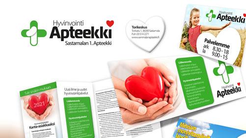 sastamalan-1-ensimmainen-apteekki-vammala-visuaalinen-ilme-yritysgrafiikka-hyvinvointi-kauneuspalvelut-logo-kuvasuunnittelu-painotuotteet-mainostulosteet_jips_suurkuva-2